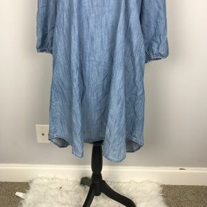 GAP Dresses - Gap Denim Chambray Shift Dress